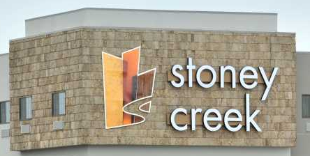 photo of Stoney Creek business sign